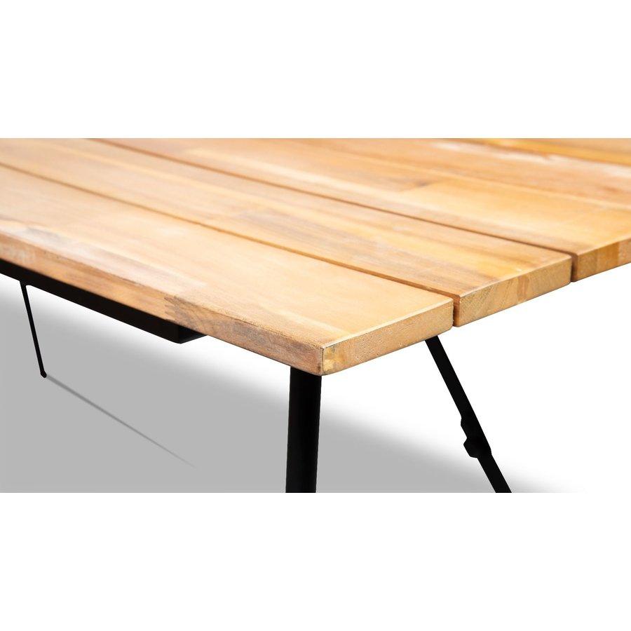 Tuintafel Inklapbaar - Vernon - Acacia - 180x90 cm - Garden Interiors-6