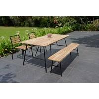 thumb-Picknickset Inklapbaar - Vernon - Acacia - Garden Interiors-4