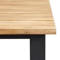 thumb-Picknickbank - Melton - Antraciet - Aluminium - 180x40 cm - Garden Interiors-3
