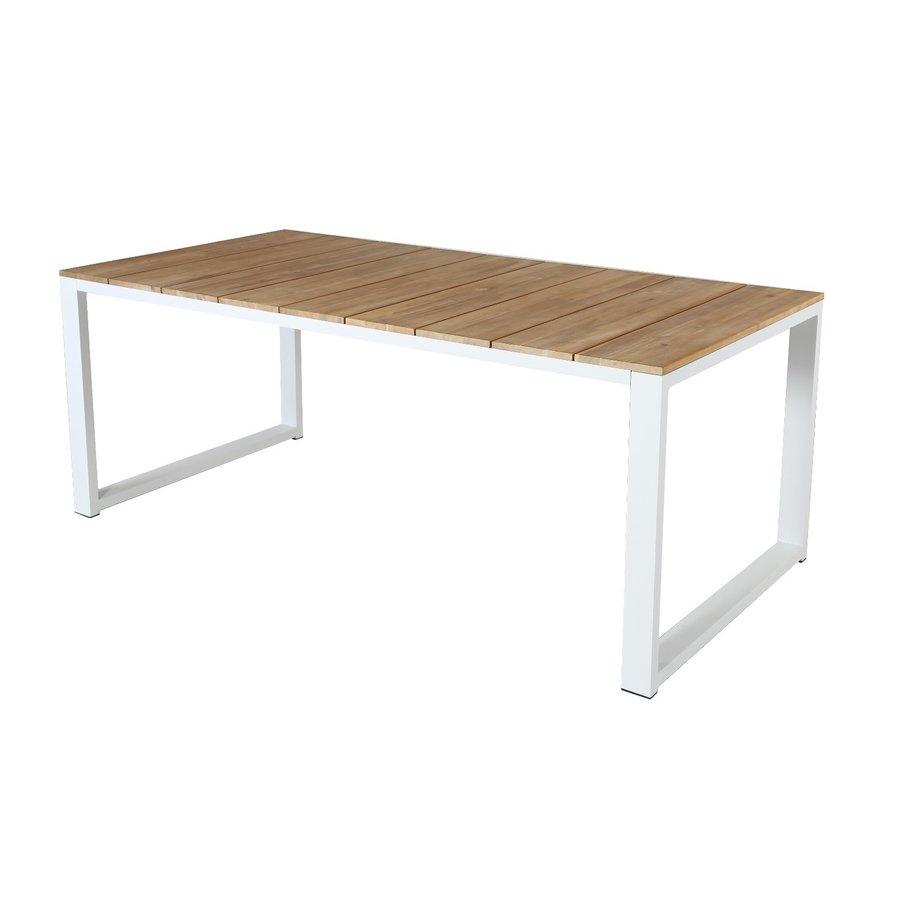 Picknickset - Melton - Wit - Acacia/Aluminium - Garden Interiors-4