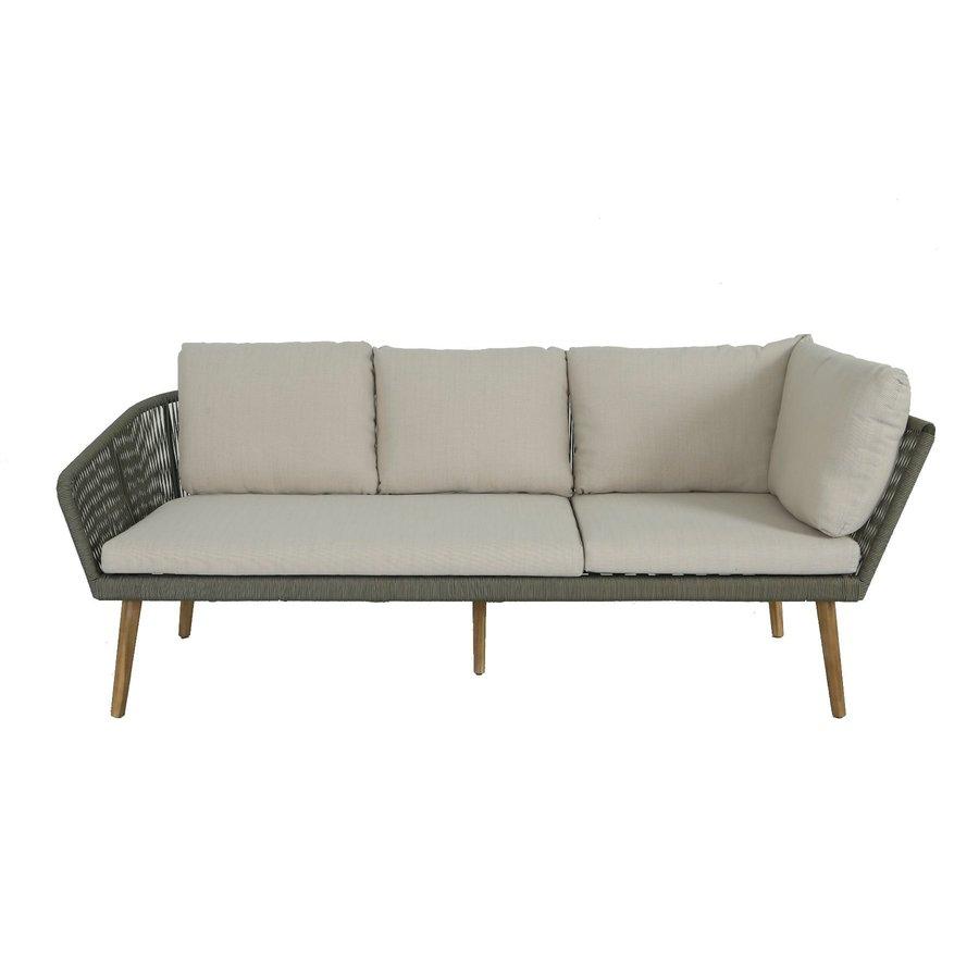 Hoek Loungeset - Altea - Olive - Rope - Alu - Garden Interiors-3