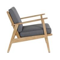 thumb-Stoel-Bank Loungeset - Narvik - Acacia - Grijs - Garden Interiors-8