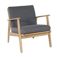 thumb-Stoel-Bank Loungeset - Narvik - Acacia - Grijs - Garden Interiors-7