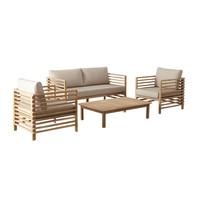 thumb-Stoel-Bank Loungeset - Selby - Acacia - Zand - Garden Interiors-2