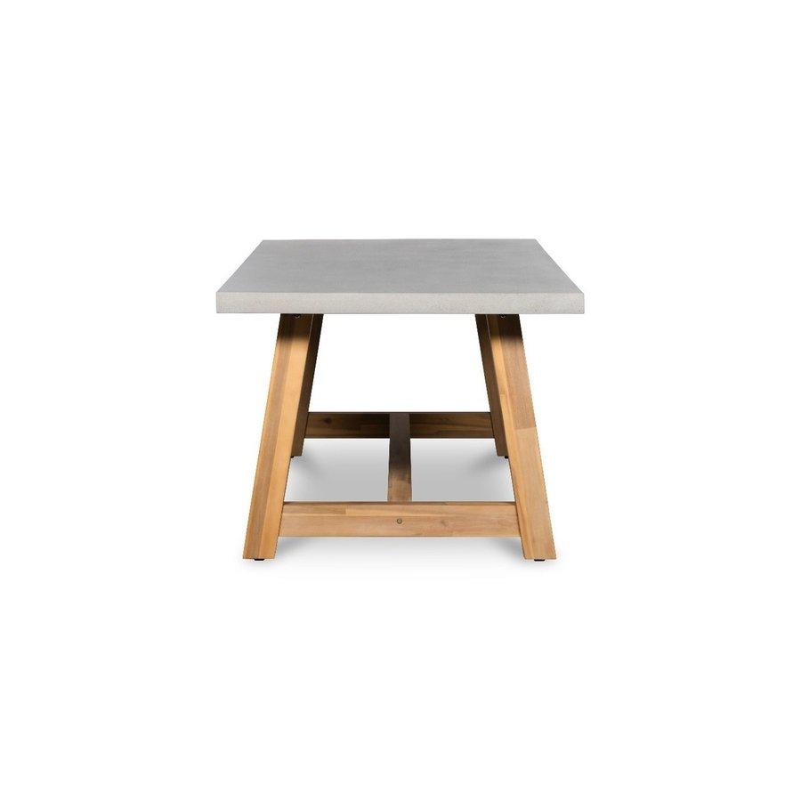 Tuintafel - Judy - Beton Look - 180x90x77 cm - Lesli Living-4