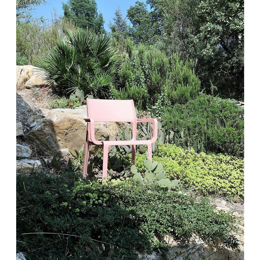 Stapelbare Armstoel - TRILL - Bouquet - Roze - Nardi-7