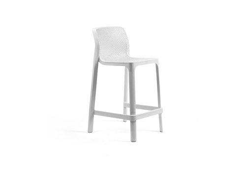 Stapelbare Barkruk - 65 cm - NET MINI - Bianco - Wit - Nardi