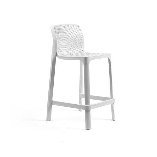 Nardi Stapelbare Barkruk - 65 cm - NET MINI - Bianco - Wit - Nardi