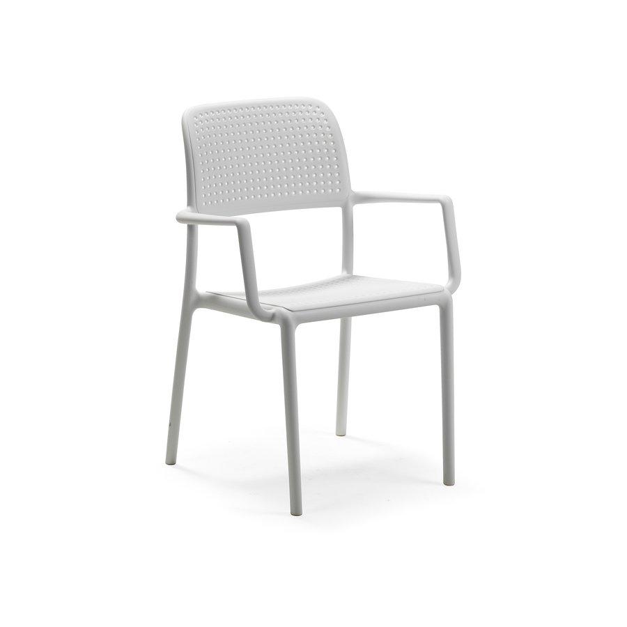 Tuinstoel - Bora - Bianco - Wit - Kunststof - Nardi-1