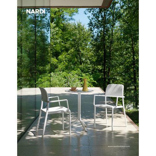 Nardi Tuinstoel - Bora - Bianco - Wit - Kunststof - Nardi