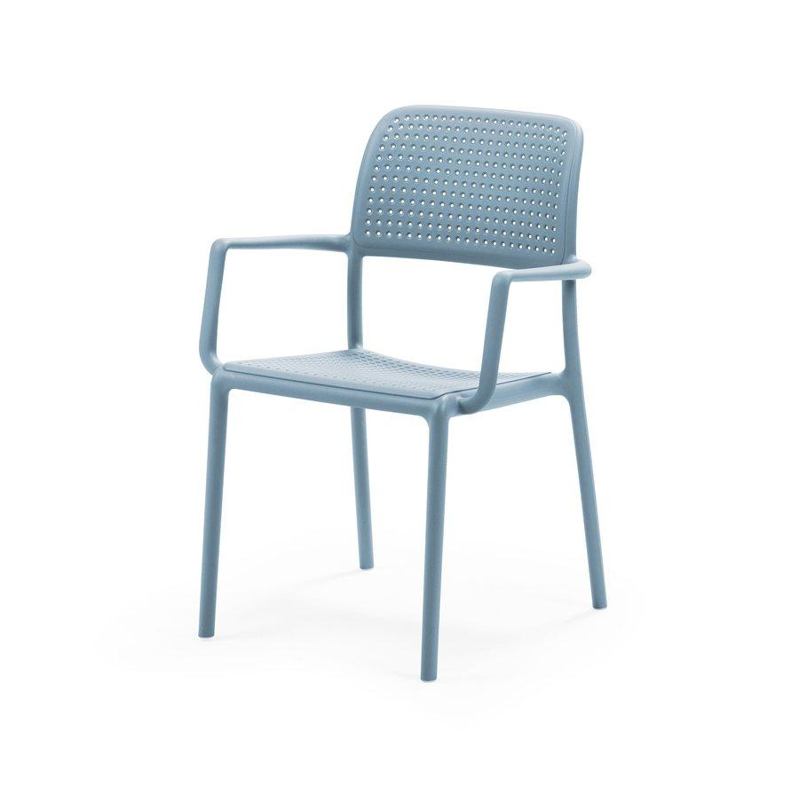 Tuinstoel - Bora - Celeste - Blauw - Kunststof - Nardi-2