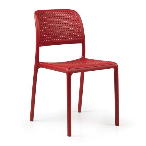 Nardi Tuinstoel - Bora Bistrot - Rosso - Rood - Kunststof - Nardi