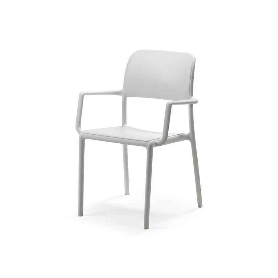 Tuinstoel - Riva - Bianco - Wit - Kunststof - Nardi-2