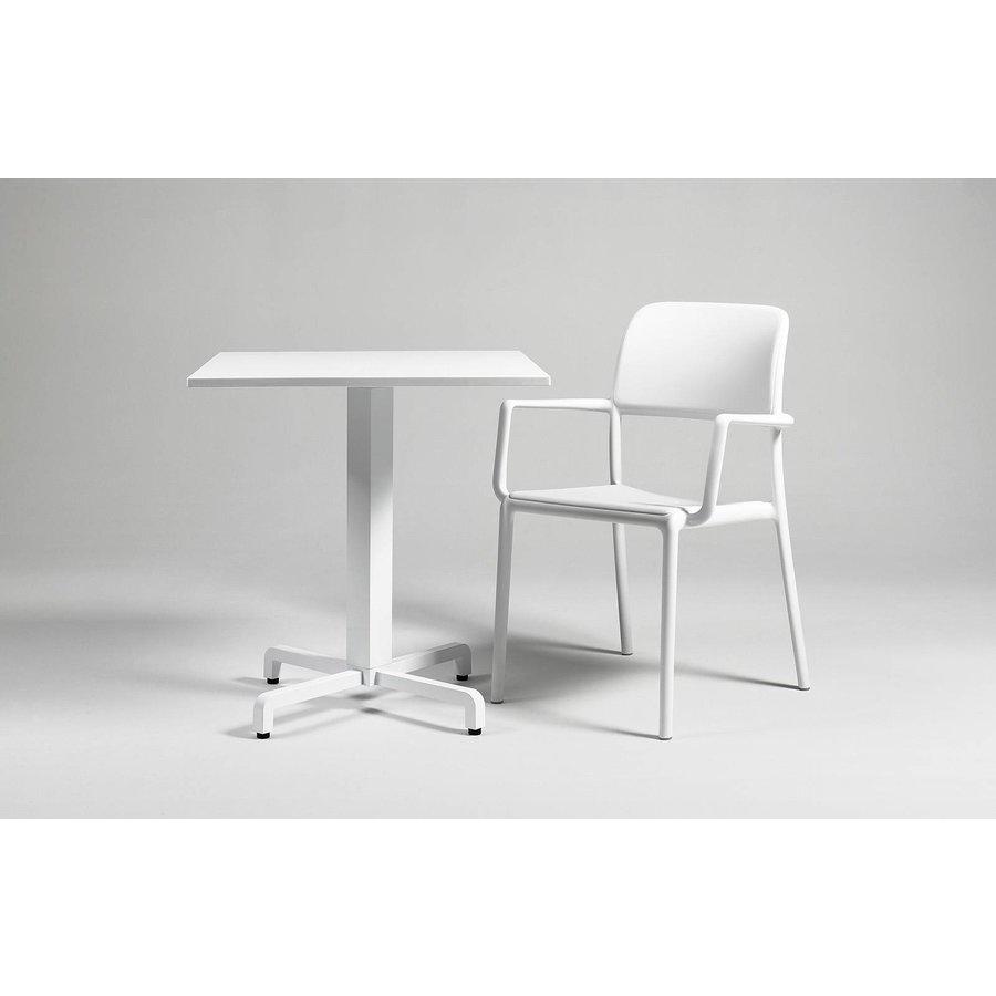Tuinstoel - Riva - Bianco - Wit - Kunststof - Nardi-3