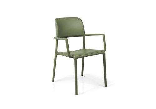 Tuinstoel - Riva - Agave - Groen - Kunststof - Nardi