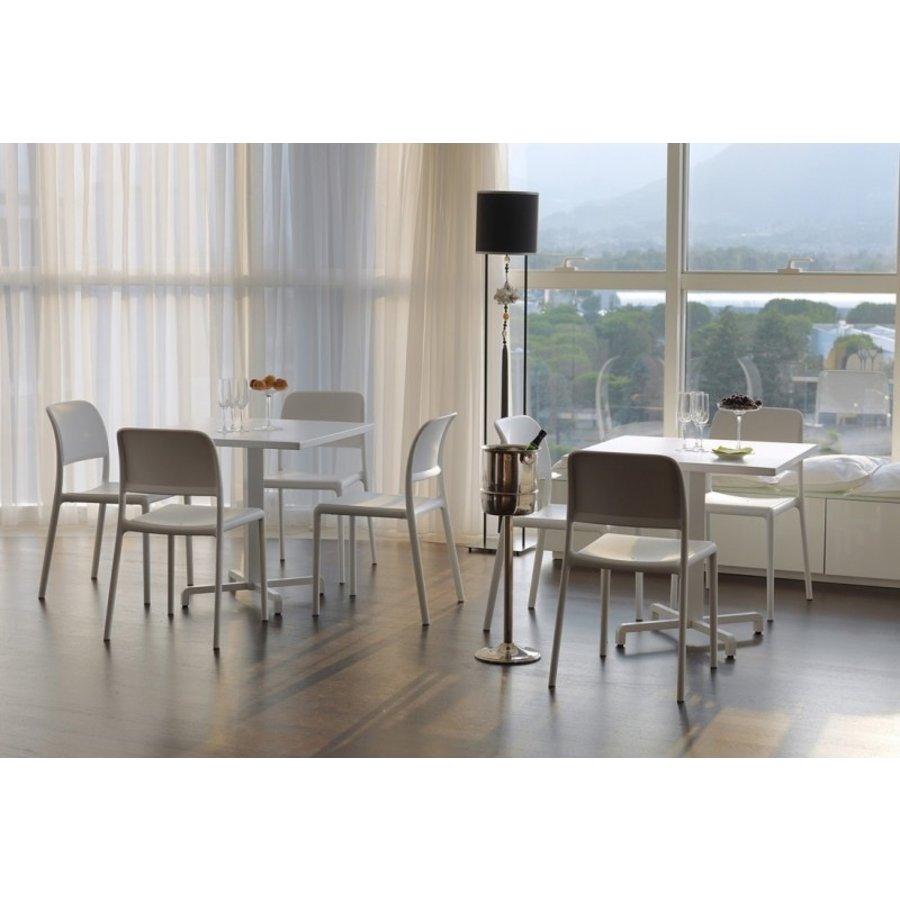 Tuinstoel - Riva Bistrot - Bianco - Wit - Kunststof - Nardi-5