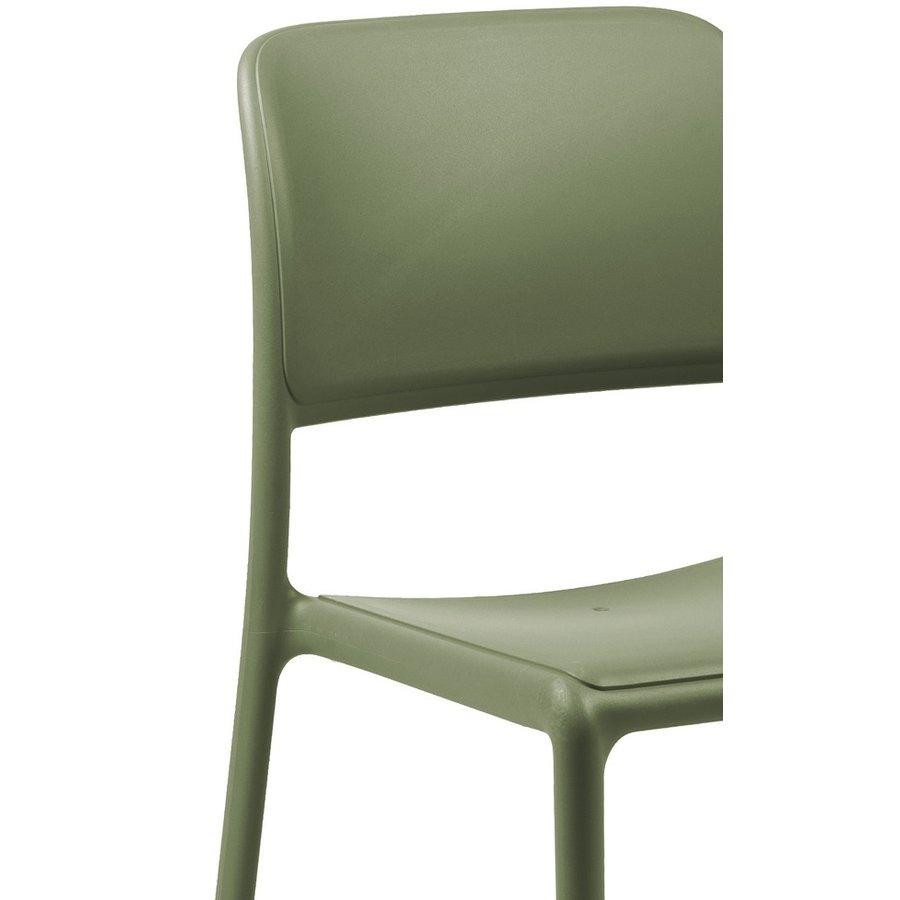 Tuinstoel - Riva Bistrot - Agave - Groen - Kunststof - Nardi-3