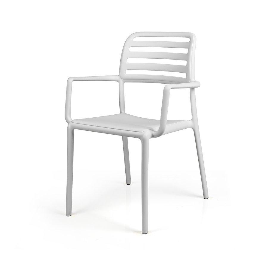 Tuinstoel - Costa - Bianco - Wit - Kunststof - Nardi-2