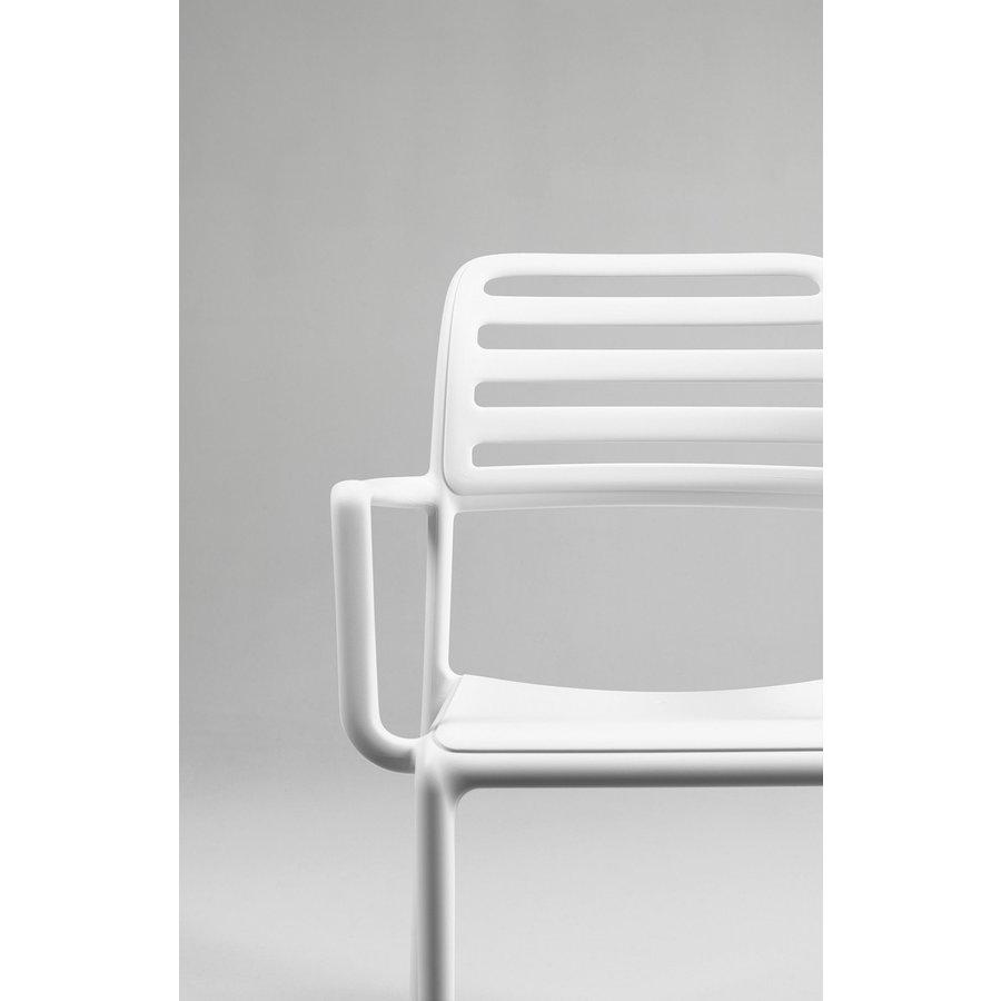Tuinstoel - Costa - Bianco - Wit - Kunststof - Nardi-4