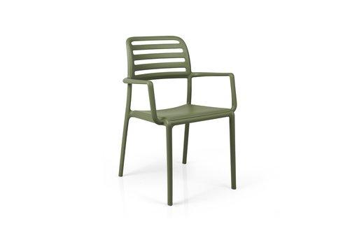 Tuinstoel - Costa - Agave - Groen - Kunststof - Nardi