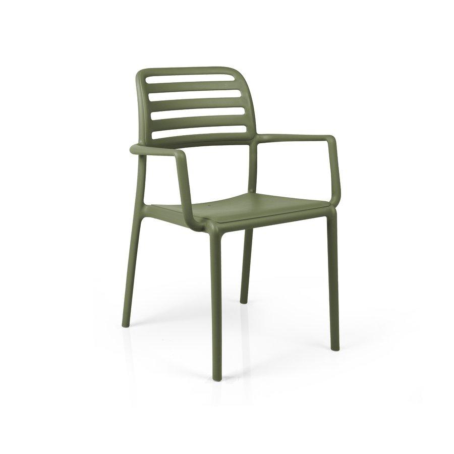 Tuinstoel - Costa - Agave - Groen - Kunststof - Nardi-1
