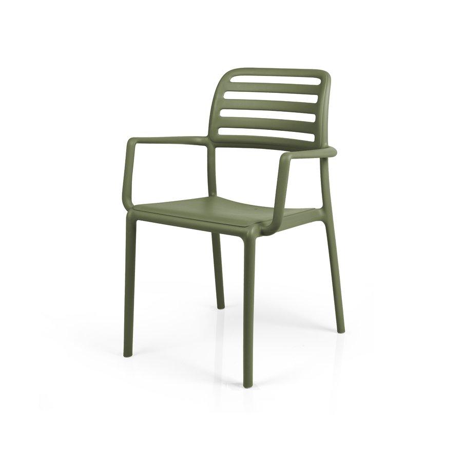 Tuinstoel - Costa - Agave - Groen - Kunststof - Nardi-2