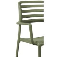 thumb-Tuinstoel - Costa - Agave - Groen - Kunststof - Nardi-3