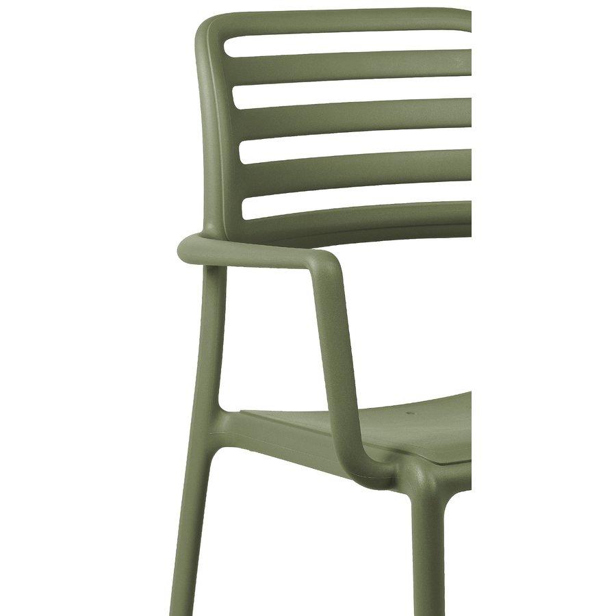 Tuinstoel - Costa - Agave - Groen - Kunststof - Nardi-3