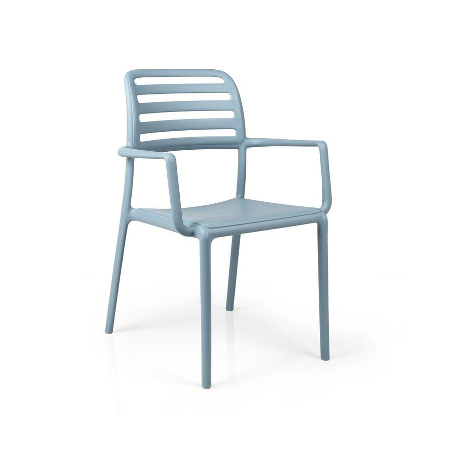 Tuinstoel - Costa - Celeste - Blauw - Kunststof - Nardi-1