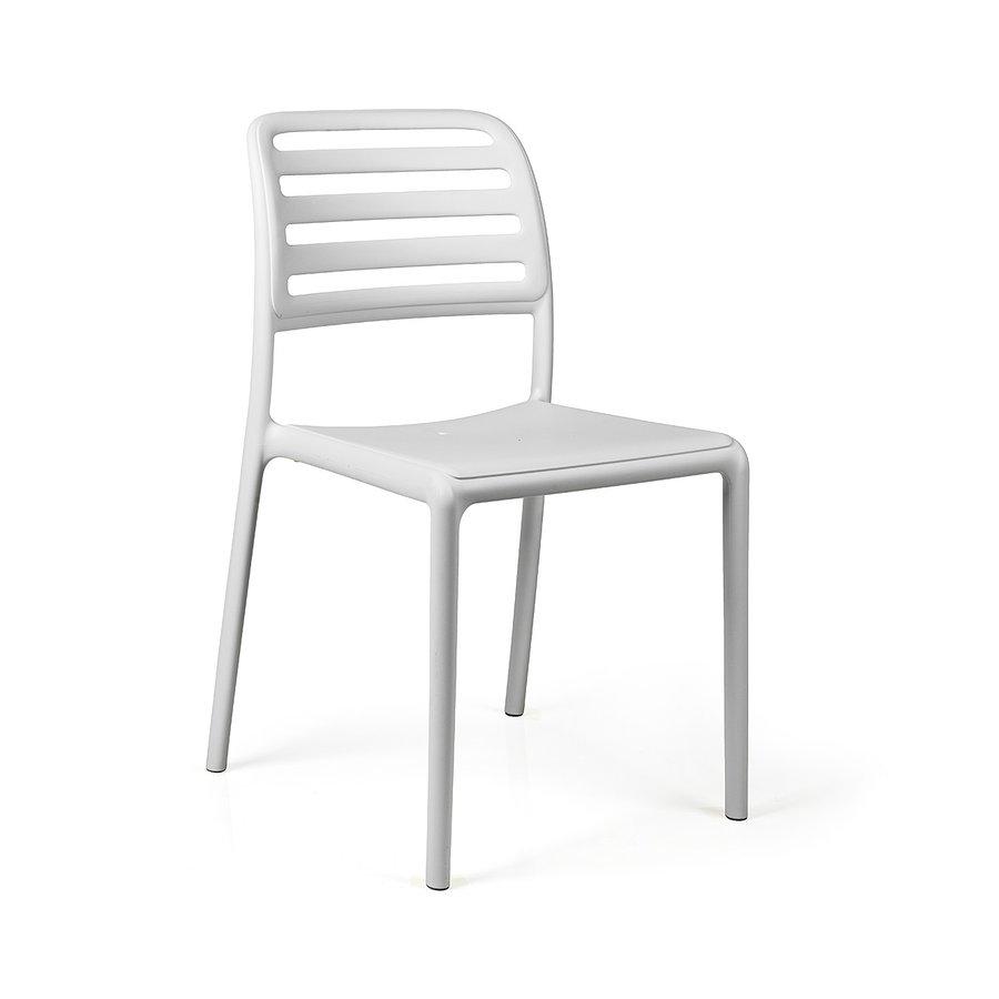 Tuinstoel - Costa Bistrot - Bianco - Wit - Kunststof - Nardi-1