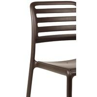thumb-Tuinstoel - Costa Bistrot - Koffie Bruin - Kunststof - Nardi-3