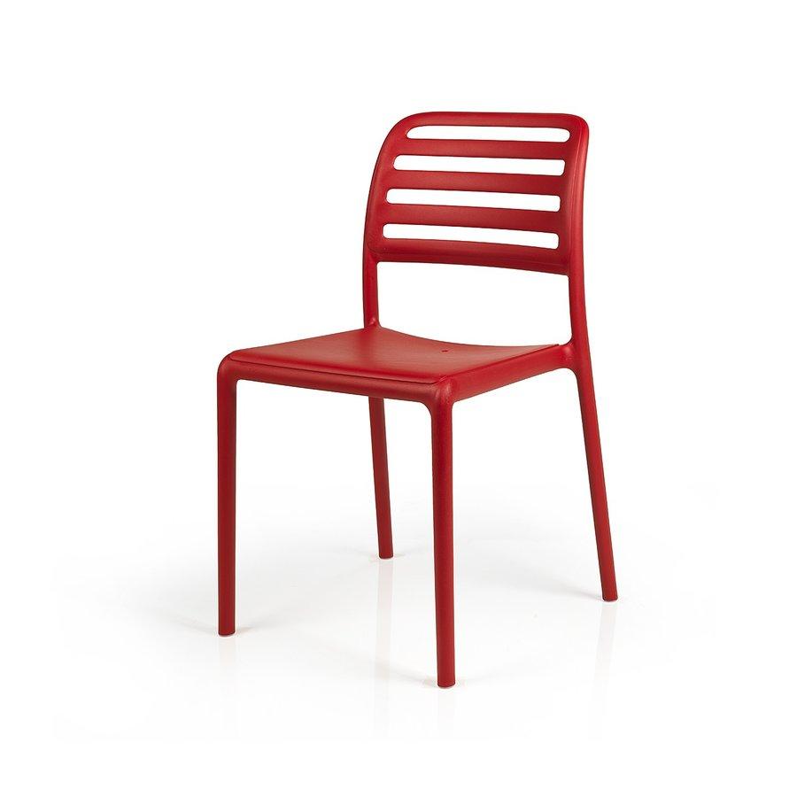 Tuinstoel - Costa Bistrot - Rosso - Rood - Kunststof - Nardi-2