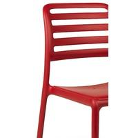 thumb-Tuinstoel - Costa Bistrot - Rosso - Rood - Kunststof - Nardi-3