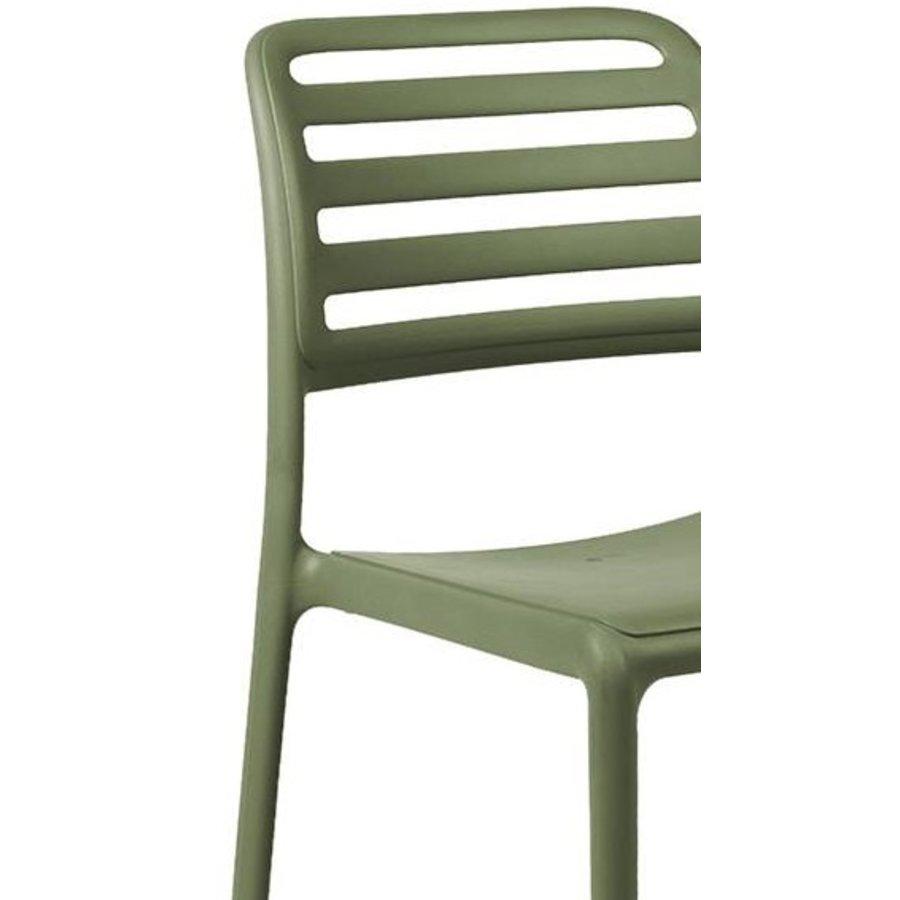 Tuinstoel - Costa Bistrot - Agave - Groen - Kunststof - Nardi-3