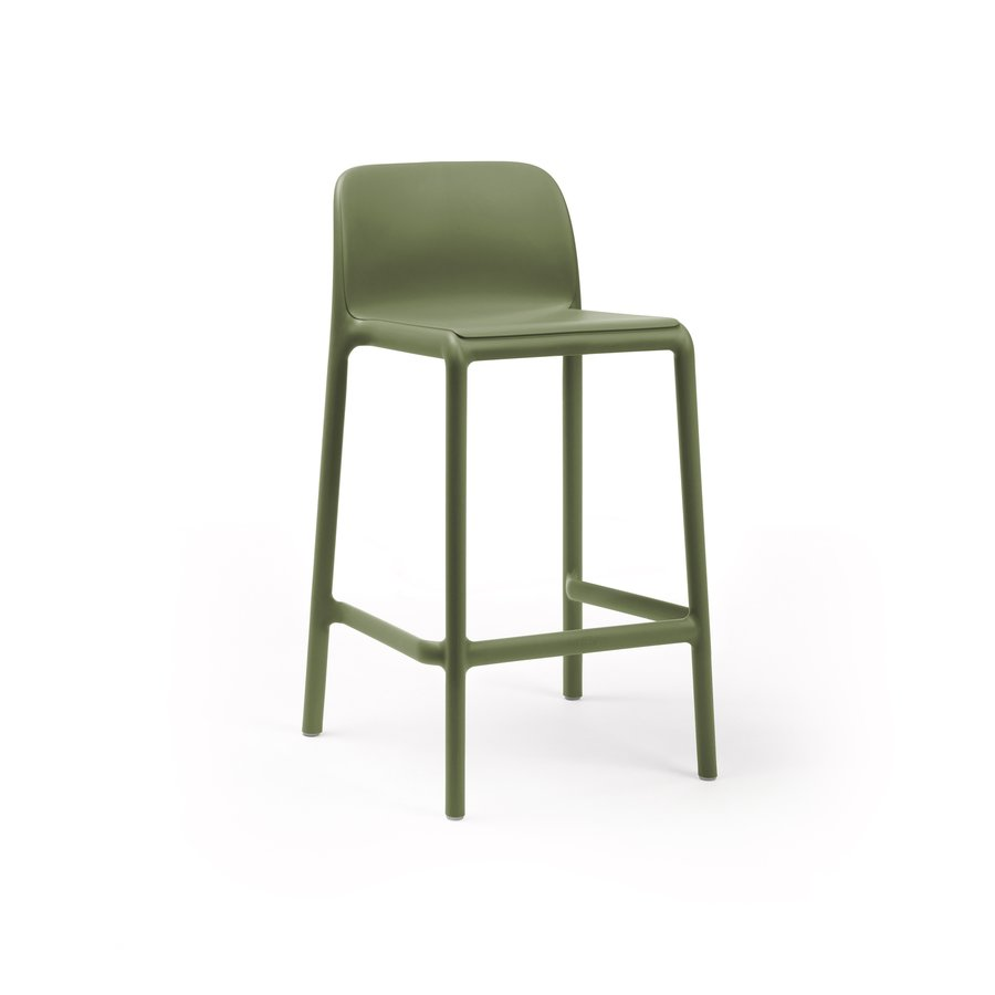 Barkruk Buiten - 65 cm - FARO MINI - Agave - Groen - Nardi-1