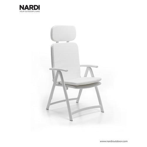 Nardi Standenstoel - Acquamarina - Bianco - Wit - Kunststof - Nardi