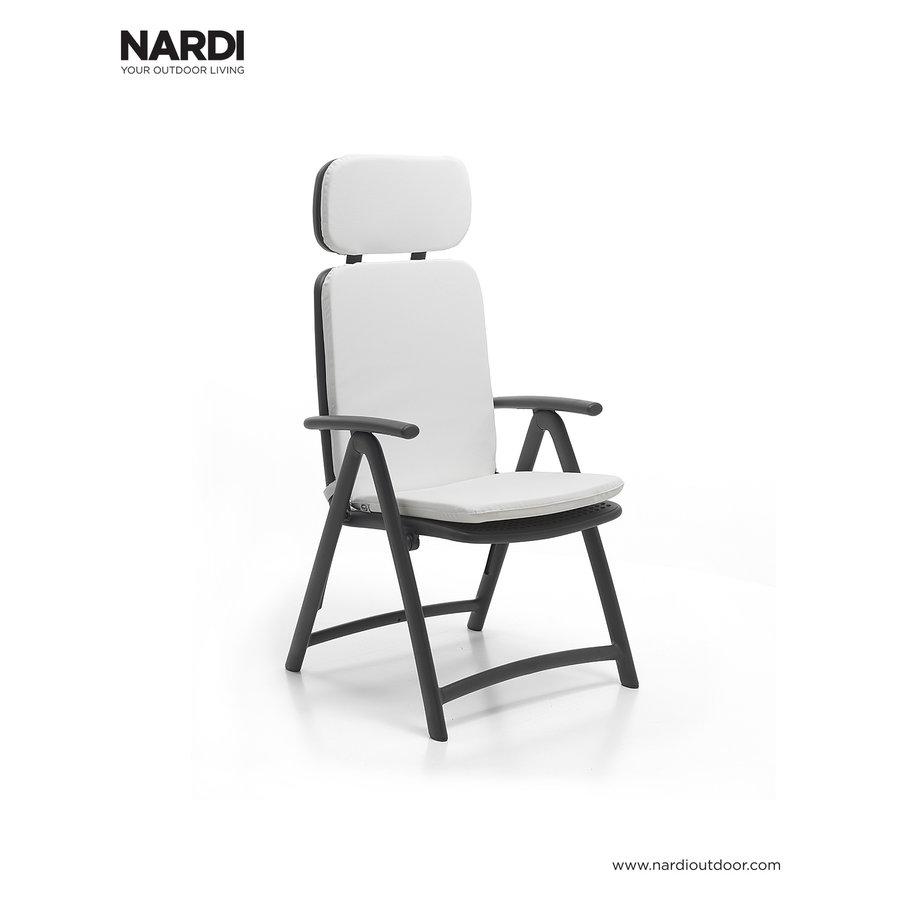 Standenstoel - Acquamarina - Antraciet - Kunststof - Nardi-5
