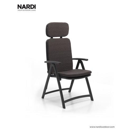 Nardi Standenstoel - Acquamarina - Antraciet - Kunststof - Nardi