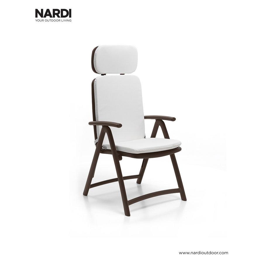 Standenstoel - Acquamarina - Koffie Bruin - Kunststof - Nardi-5