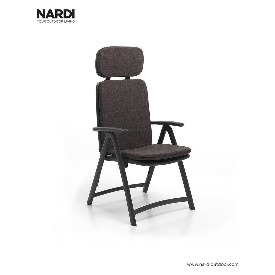 Standenstoel - Acquamarina - Koffie Bruin - Kunststof - Nardi-6