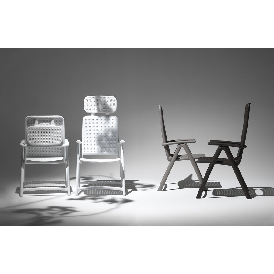 Standenstoel - Acquamarina - Koffie Bruin - Kunststof - Nardi-4
