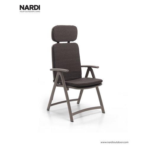 Nardi Standenstoel - Acquamarina - Tortora - Taupe - Kunststof - Nardi