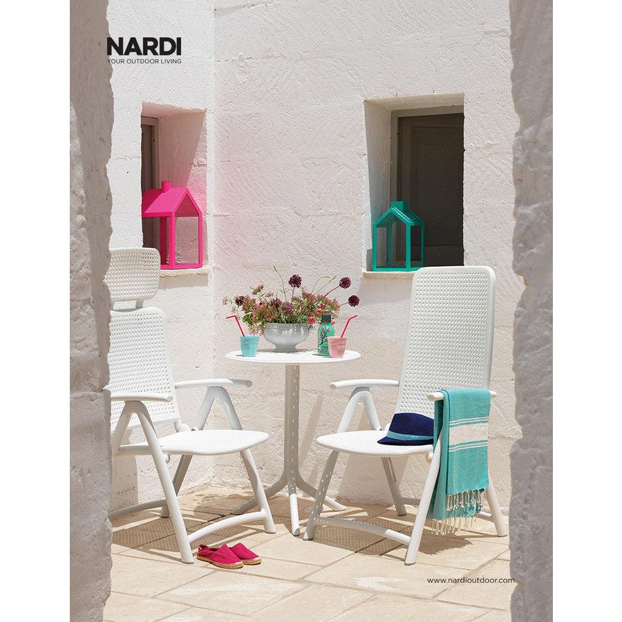 Standenstoel - Darsena - Bianco - Wit - Kunststof - Nardi-4