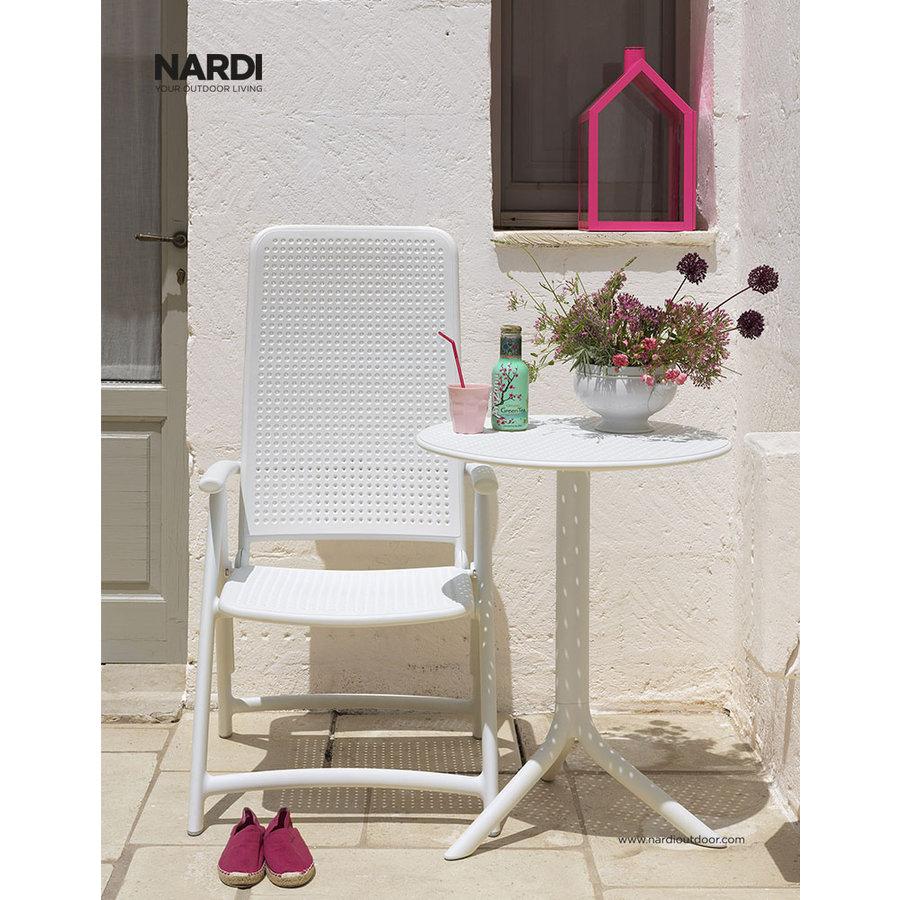 Standenstoel - Darsena - Bianco - Wit - Kunststof - Nardi-3