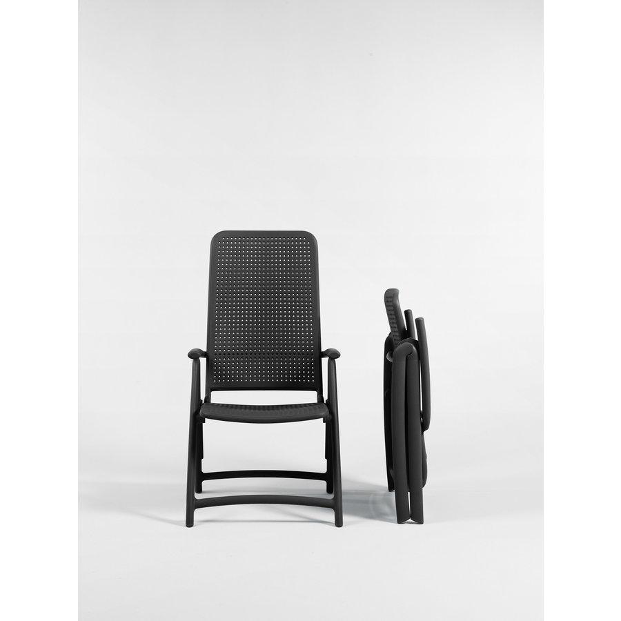 Standenstoel - Darsena - Antraciet - Kunststof - Nardi-3