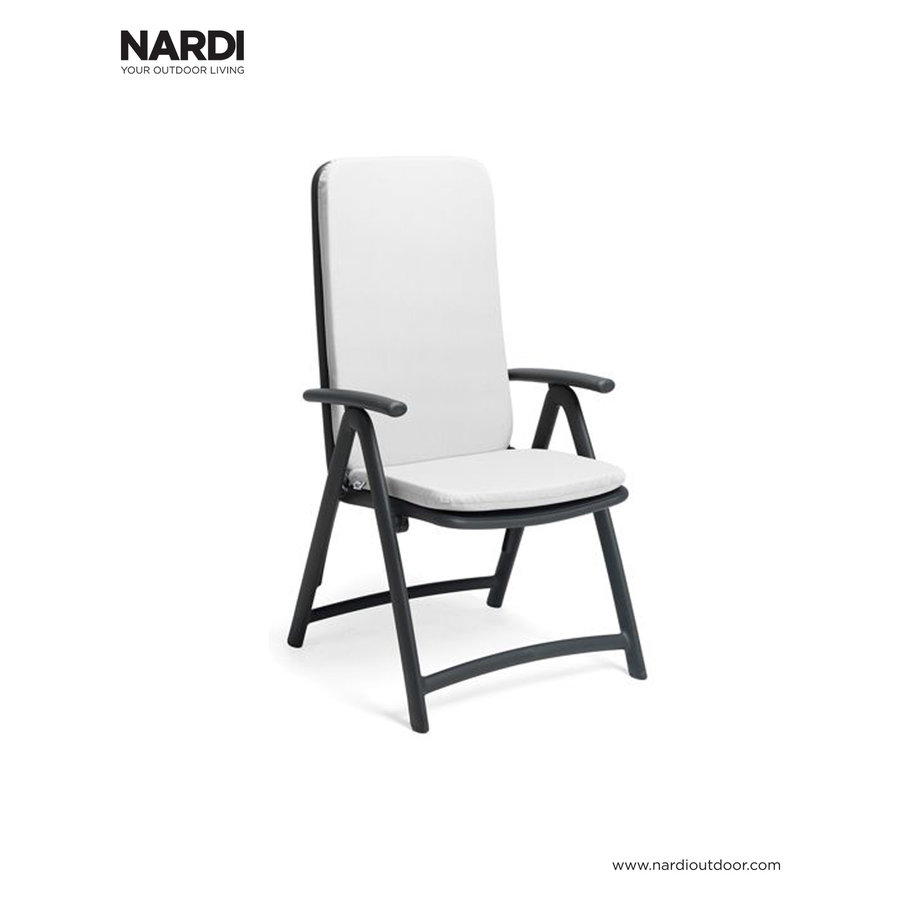 Standenstoel - Darsena - Antraciet - Kunststof - Nardi-5
