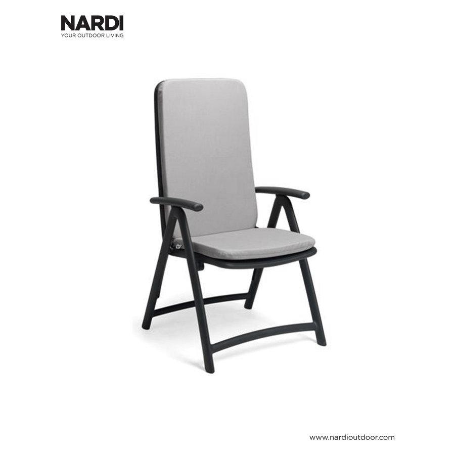 Standenstoel - Darsena - Antraciet - Kunststof - Nardi-6