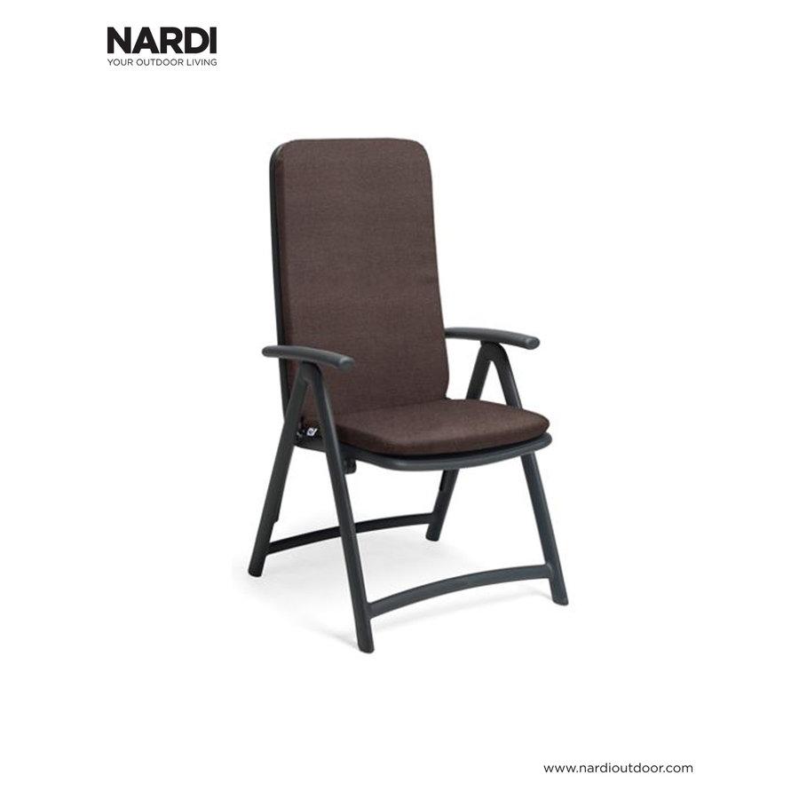 Standenstoel - Darsena - Antraciet - Kunststof - Nardi-7