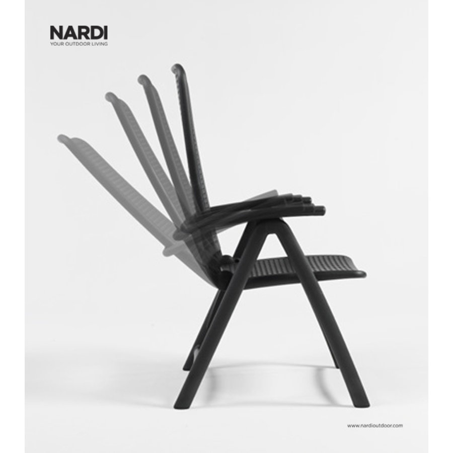 Standenstoel - Darsena - Antraciet - Kunststof - Nardi-4