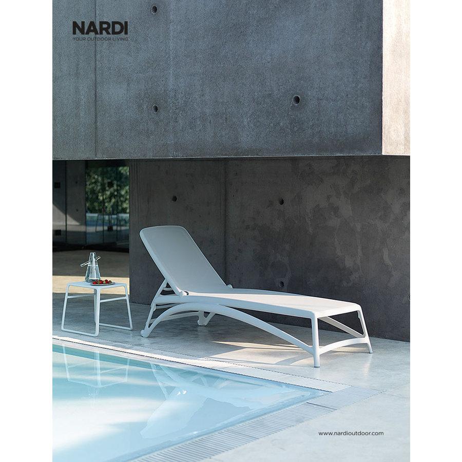 Ligbed - Atlantico - Wit - Bianco - Kunststof - Nardi-3